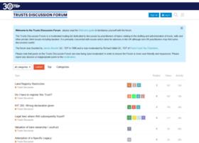 trustsdiscussionforum.co.uk