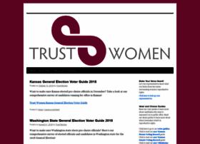 trustwomenpac.org