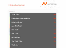 truthaboutbackpain.net