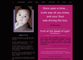 truthatthespeedoflight.com