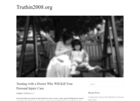truthin2008.org