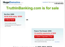 truthinbanking.com