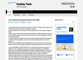 truxtertech.com