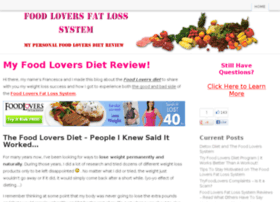 The Food Lovers Fat Loss System is touted as the no-diet weight loss plan for people who love to eat. Developed by a company called Provida with certified nutritionist Robert Ferguson, MS, it is a.
