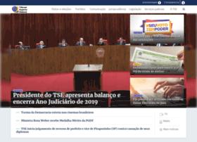 tse.gov.br