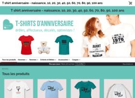 tshirt-anniversaire-20-40.spreadshirt.de