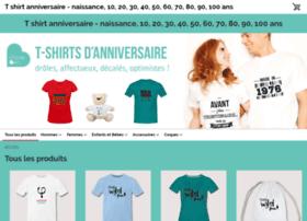 tshirt-anniversaire-20-40.spreadshirt.fr