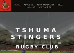 tshumastingersrugby.co.za