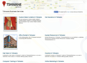 tshwaneservices.co.za