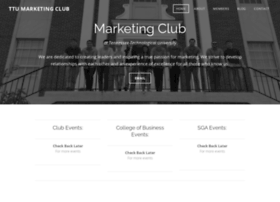 ttumarketingclub.weebly.com