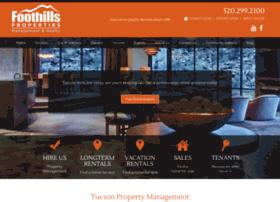 tucsonfoothills.com