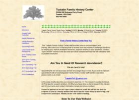 tufamilyhistorycenter.yolasite.com