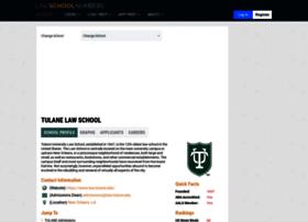 tulane.lawschoolnumbers.com