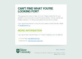 tulaneinfo.org