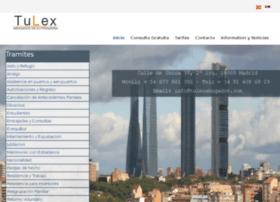 tulexextranjeria.com