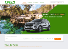 tulumcarrental.com.mx