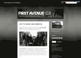 tumblr.first-avenue.com