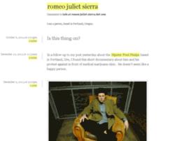 tumblr.romeojulietsierra.com