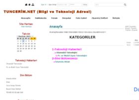 tuncerim.net