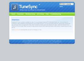 tunesync.com