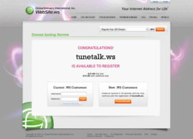 tunetalk.ws