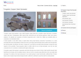 tungsten-copper-heat-spreader.com
