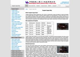 tungsten-copper.com
