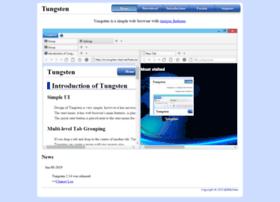 tungsten-start.net