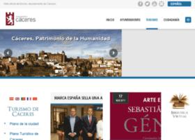 turismo.ayto-caceres.es