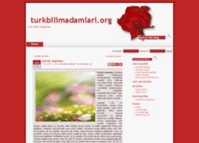 turkbilimadamlari.org