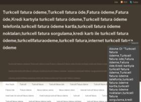 turkcellfaturaodeme.wordpress.com