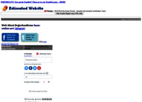 turkiye.estimatedwebsite.de