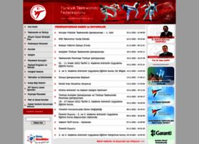 turkiyetaekwondofed.gov.tr