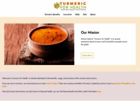 turmericforhealth.com