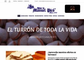 turronesmanuelpico.com
