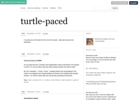 turtle-paced.tumblr.com
