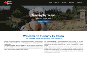 tuscanybyvespa.com