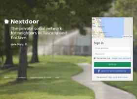 tuscanyenclave.nextdoor.com