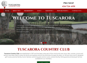 tuscaroracountryclub.net