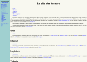 tuteurs.ens.fr