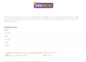 tutordoctorsantamonica.hireology.com
