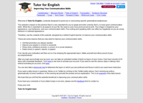 tutorforenglish.com
