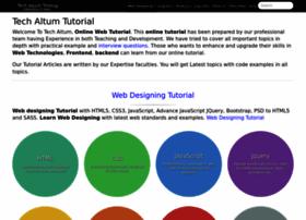 tutorial.techaltum.com