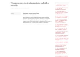 tutorials4.wordpress.com