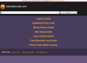 tutorialscode.com