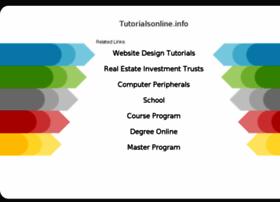 tutorialsonline.info