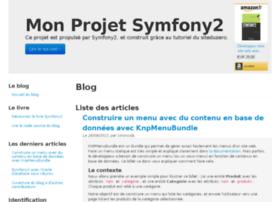 tutoriel-symfony2.fr