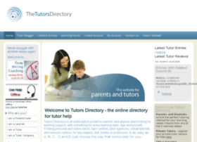tutorsdirectory.co.uk