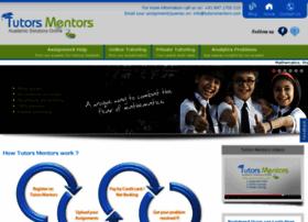 tutorsmentors.com