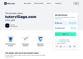 tutorvillage.com